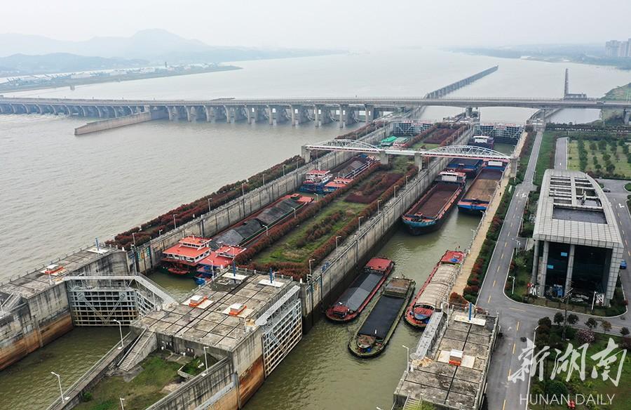 湘江长沙综合枢纽:保安全畅通  促运输发展 新湖南www.hunanabc.com