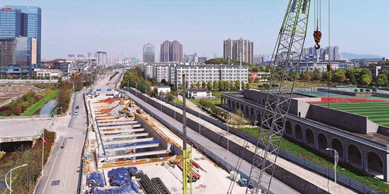 长沙地铁建设全面复工