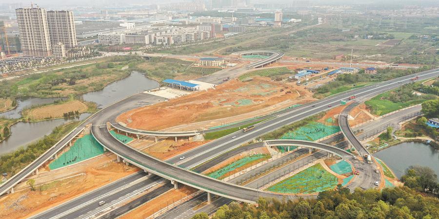 长沙绕城高速新增互通式立交